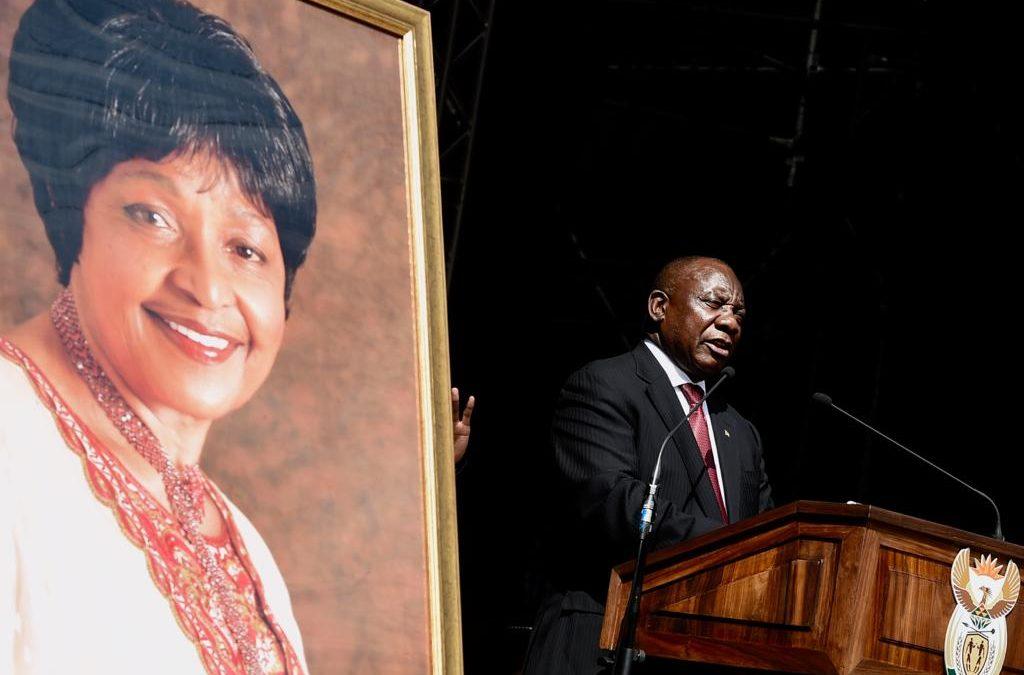Winnie Madikizela-Mandela  laid to rest