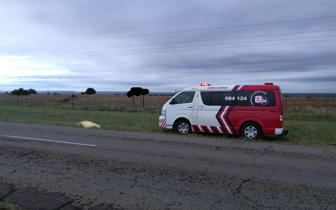 Woman's body found next to road