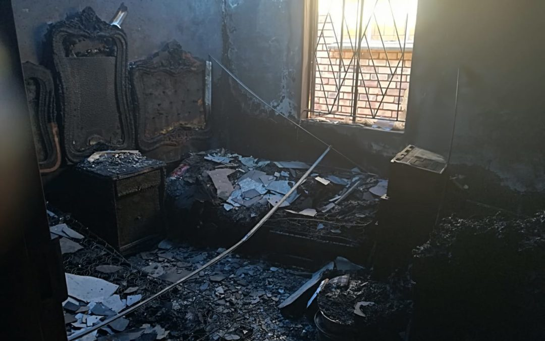 House destroyed in Alabama fire