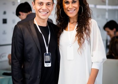 VIP moderators Emele and Razia Samson (Power Couple SA)