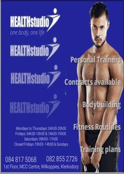 health studio ad