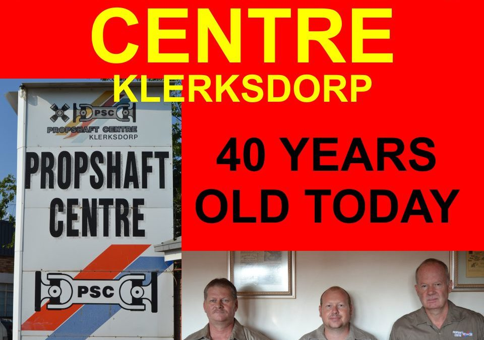 Propshaft Centre turns 40