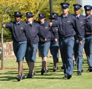 SAPS SEARCHES FOR POLICE TRAINEES